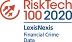 LexisNexis Risk Solutions Wins the Chartis Research RiskTech100 Award for Financial Crime - Data