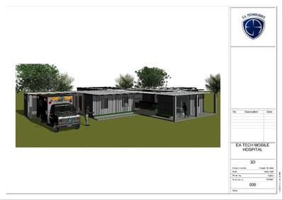 "EA Armament & Surveillance Technologies' completes design and presentation of the new ""EA Tech Mobile Hospital Platform"""