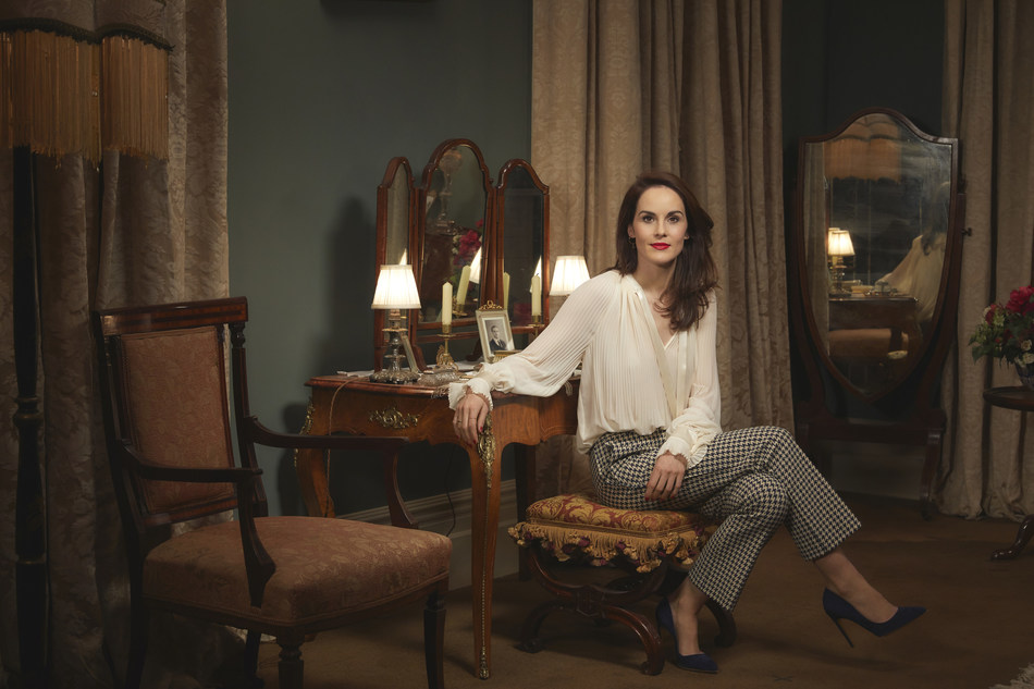 Michelle Dockery, the actress who plays Lady Mary Crawley. Downton Abbey: The Exhibition is open at Biltmore now through April 7, 2020. Photo Credit: Rodolfo Martinez/NBC Universal International