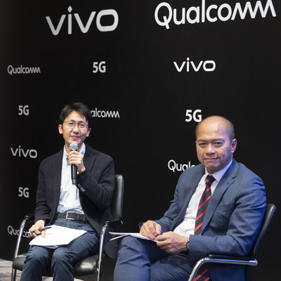 Qin Fei (left - Vivo?and ST Liew (right - Qualcomm)