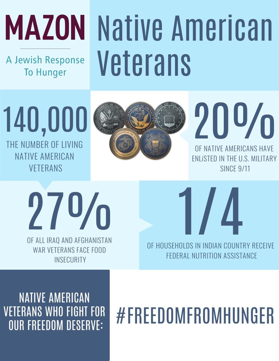 Native American Veterans Infographic