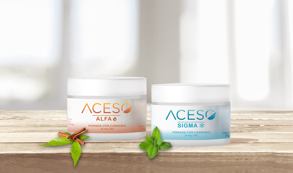 Aceso Hemp CBD brand launches in Colombia (CNW Group/Khiron Life Sciences Corp.)