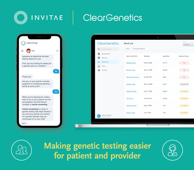 Invitae to acquire Clear Genetics