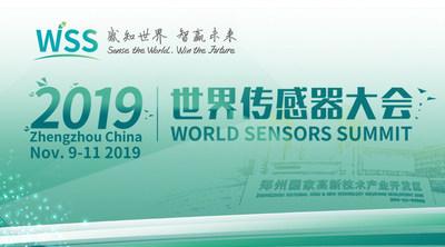 Cúpula e Exposição Mundial de Sensores 2019 realizada em Zhengzhou, na China (PRNewsfoto/APUS)