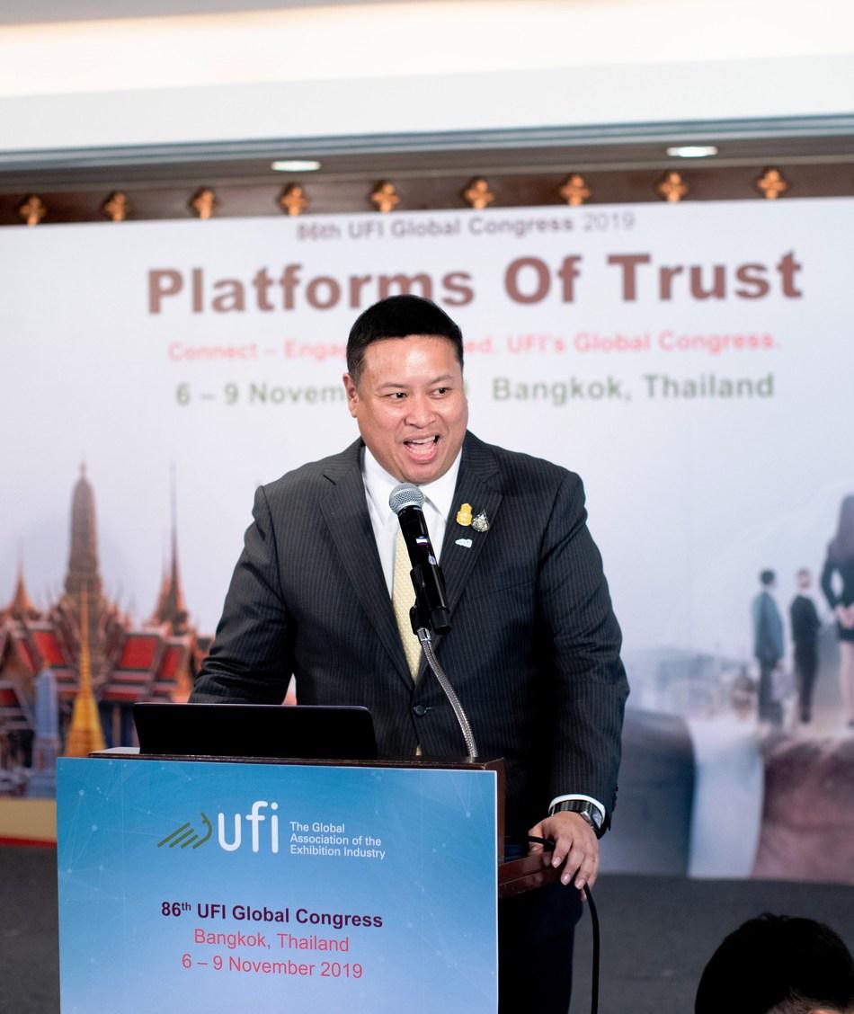 Mr. Chiruit Isarangkun Na Ayuthaya, President, Thailand Convention & Exhibition Bureau (TCEB)