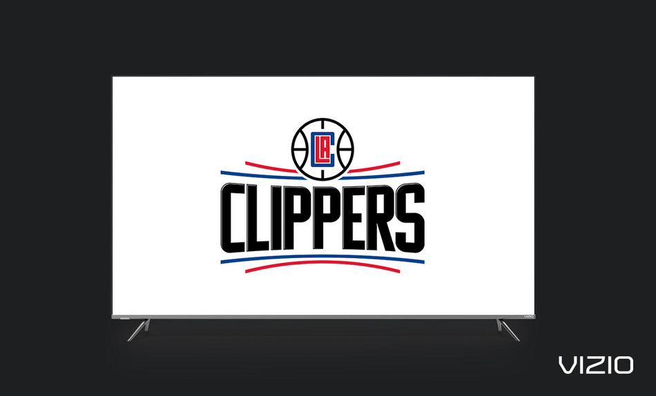 VIZIO Celebrates its Southern California Roots with L.A. Clippers Partnership