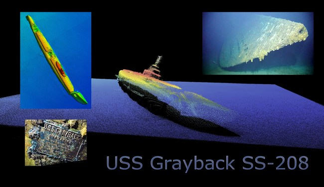 USS Grayback (SS-208) Lost February 26, 1944, Discovered June 5, 2019