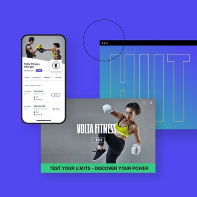 Wix Fitness makes it easy for customers to book classes on the go through the Wix App.