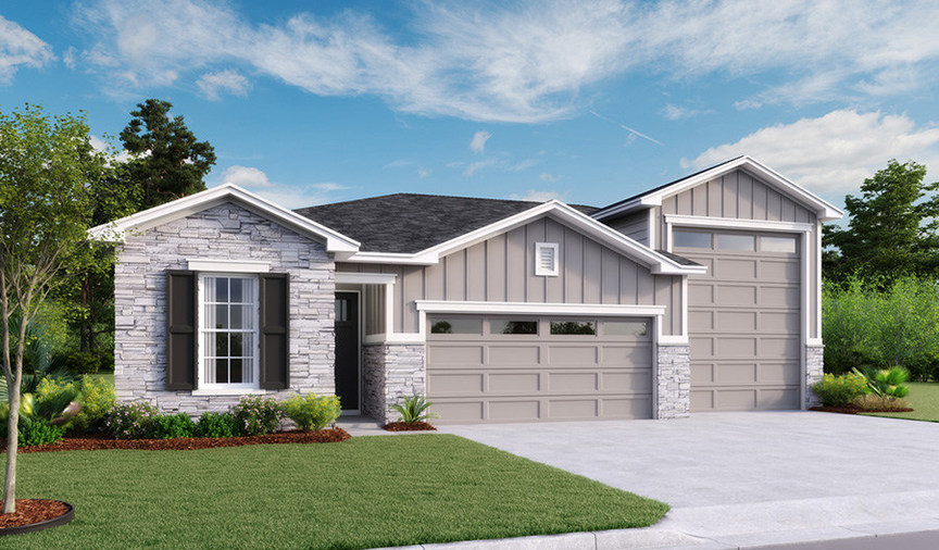 Richmond American Announces Community Grand Opening In St ... on rv garage home communities, rv garage house plans, 3 car garage home floor plans, coachmen rv floor plans, log floor plans, rv bathroom floor plans, rv garage building plans,