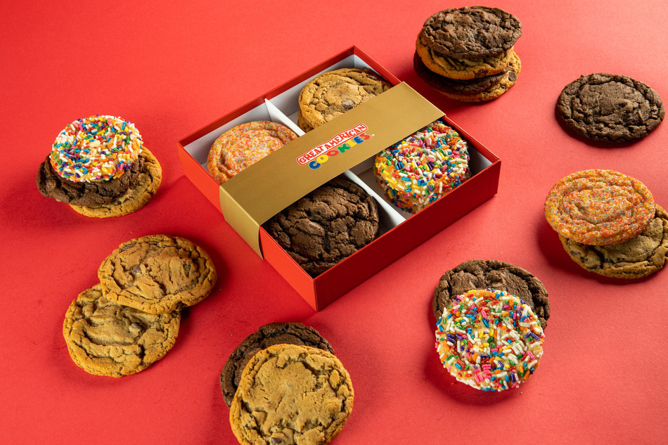 Great American Cookies' Now Offers Gift Box Shipping.