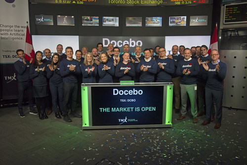 Docebo Inc. Opens the Market (CNW Group/TMX Group Limited)