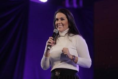 Priscila Rodovalho Cunha é psicóloga e influenciadora digital com vários cases de sucesso
