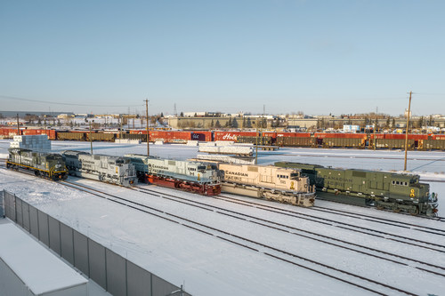 CP military locomotives (CNW Group/Canadian Pacific)