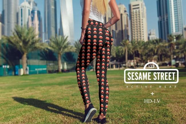 Sesame Street Active Wear - Elmo Leggings