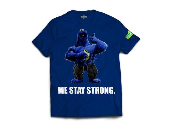 Sesame Street Active Wear - Cookie Monster Shirt