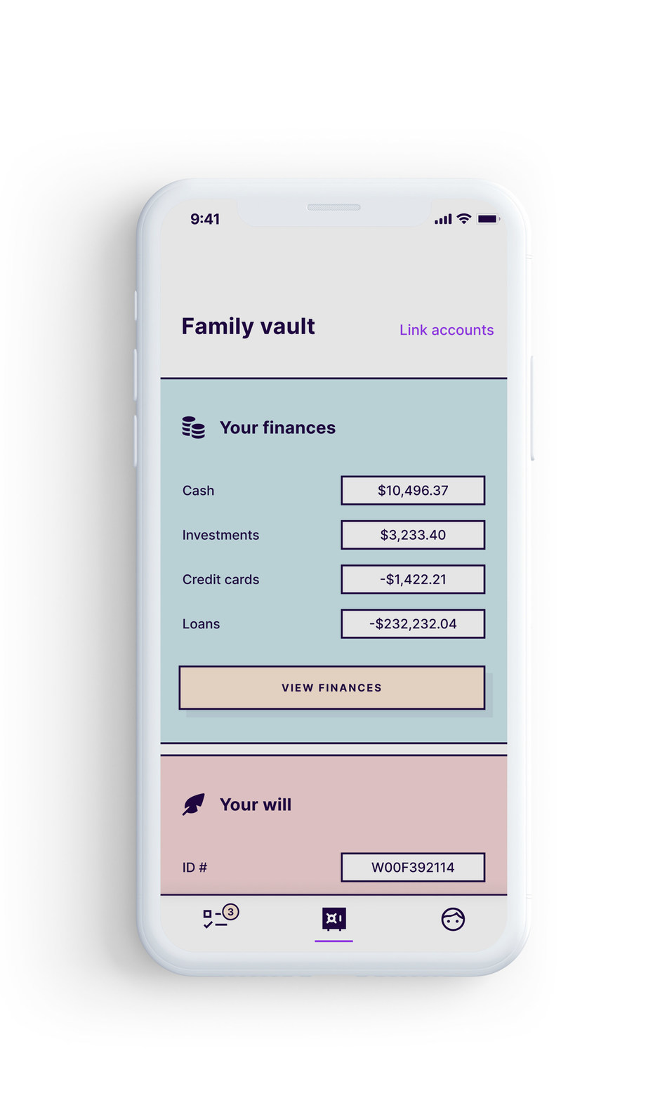 Fabric's new app helps families plan for their long-term financial well-being.