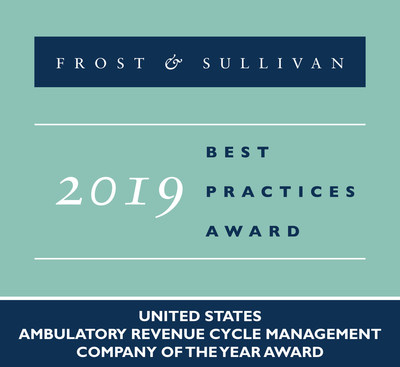 Allscripts Awarded the 2019 US Company of the Year Award for its Advanced RCM Services