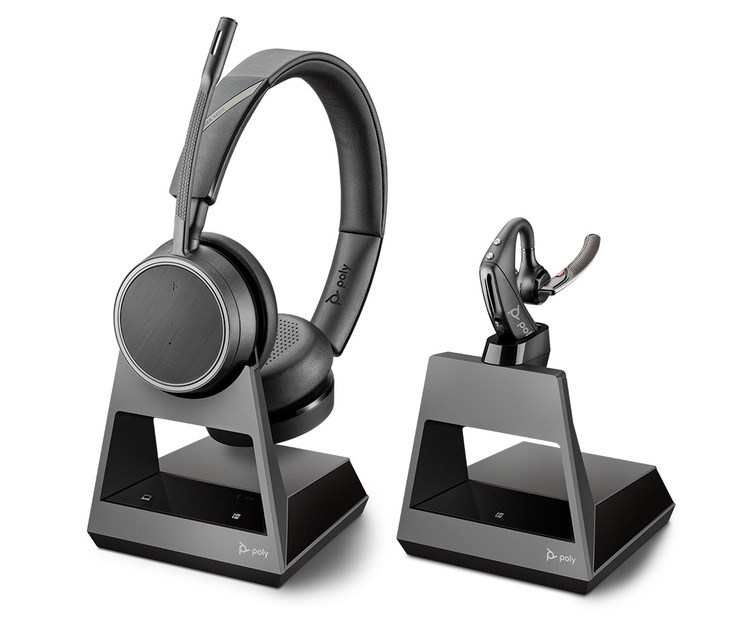Poly S Voyager Office Series Bluetooth Headsets Offer More Connectivity Options For The Freedom To Move Throughout Your Day