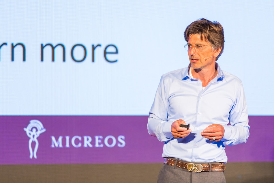 Mark Offerhaus, CEO Micreos