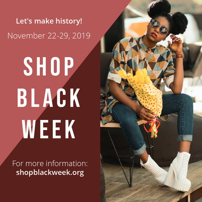 Shop Black Week - History in the Making