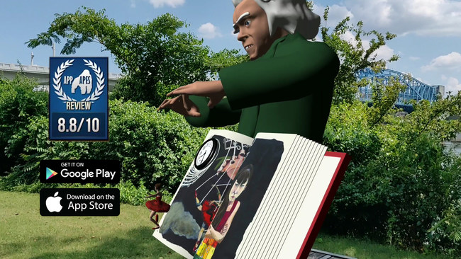 While most AR books only explore basic capabilities of AR technology, Life Vision VR pushes beyond the traditional 3D pop-up to offer young readers panoramic, 360-degree views of flying butterflies, dancing ballerinas and a stunning Oz-like madman whose appearance shows just how far AR can take storytelling.