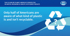 Nestlé Waters North America Unveils America's Perspectives on Packaging during America Recycles Week