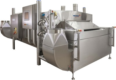 Messer Debuts at IPPE with 'Hot Products' Freezer and Mixer-Chilling Control System