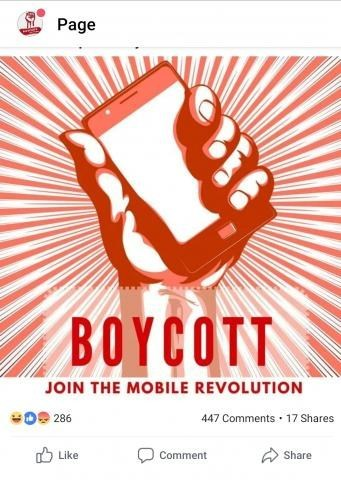 People got so offended by Boycott controversial logo that their only way to cope was to offend back... Show must go on