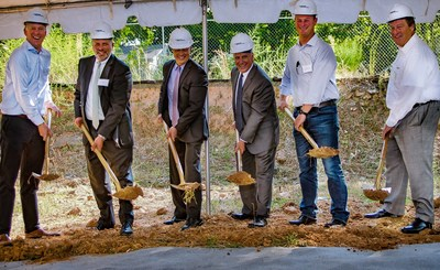 Ground Breaking Ceremony for Catalyst-Midtown.