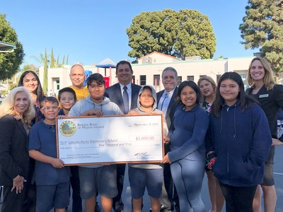 Lincoln Acres Elementary in National City Awarded $5,000 Barona Education Grant for STEAM Program
