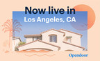 Opendoor Launches in Los Angeles