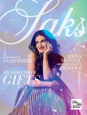 Saks Fifth Avenue 2019 Holiday Book Cover