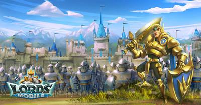 Image of Lords Mobile game (PRNewsfoto/IGG)