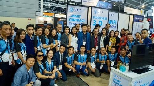 Image: CSE delegation at Singapore Fintech Festival 2019