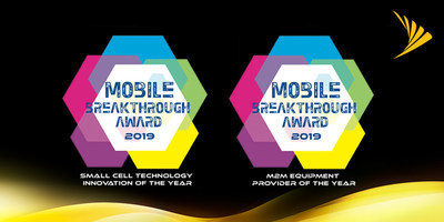 """Sprint's TREBL with Magic Box was selected as """"Small Cell Technology Innovation of the Year"""" and the company's Sprint IoT Factory was honored as the winner of the """"M2M Equipment Provider of the Year"""" award in the 2019 Mobile Breakthrough Awards program."""