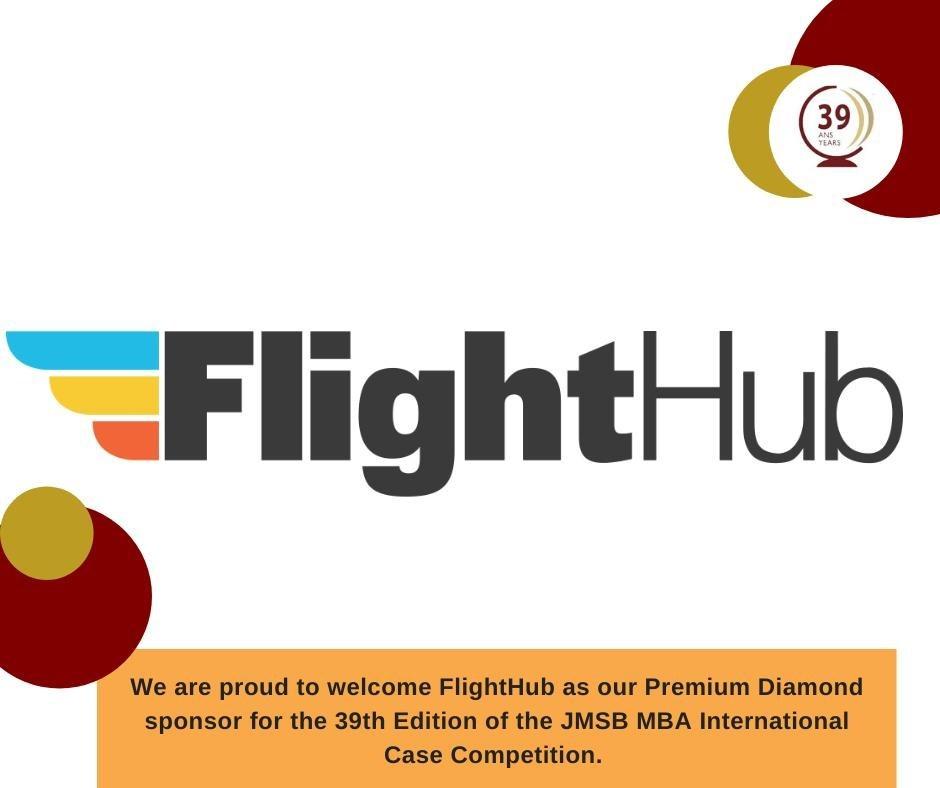 FlightHub sponsors JMSB MBA Case Competition (CNW Group/FlightHub)