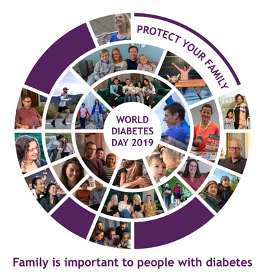 Ascensia Diabetes Care Celebrates the Important Role Families Play in Supporting People With Diabetes on World Diabetes Day 2019