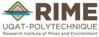 Logo: UQAT-Polytechnique Research Institute of Mines and Environment (RIME) (CNW Group/Université du Québec en Abitibi-Témiscamingue (UQAT))