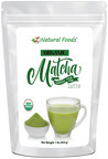 Z Natural Foods Announces New Organic Matcha Green Tea Latte Powder
