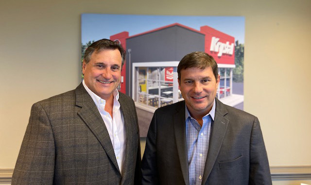 L-R: Bruce Vermilyea, Krystal chief financial officer and Tim Ward, Krystal president and chief operating officer.