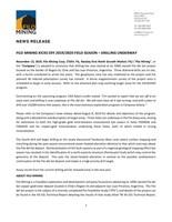 Filo Mining Kicks Off 2019/2020 Field Season – Drilling Underway (CNW Group/Filo Mining Corp.)