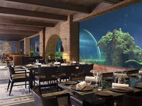 The Apurva Kempinski Bali Welcomes Guests to Bali's First Aquarium Dining Experience at Koral