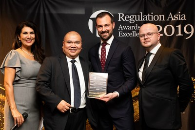 Daniel Banes, Exiger Managing Director & APAC Regional Leader with Joseph Quiazon, Exiger Managing Director & Head of Financial Crime Compliance, APAC and Regulation Asia team.