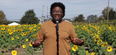 Queena Bergen was selected from more than 2,400 entries with a dream of quitting her software engineer job and embarking on a national poetry tour to motivate and inspire others.