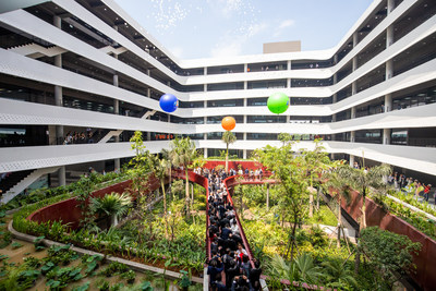 Vietnam's leading software firm FPT Software on Wednesday announced the opening of F-Town 3, the largest of its six campuses in Vietnam, in celebration of the company's 20th year in business.