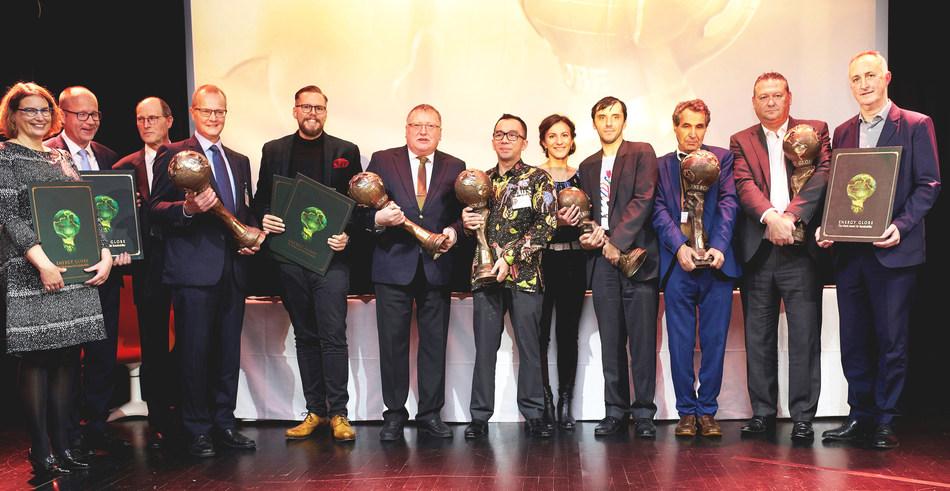 All winners of the Energy Globe World Awards 2019