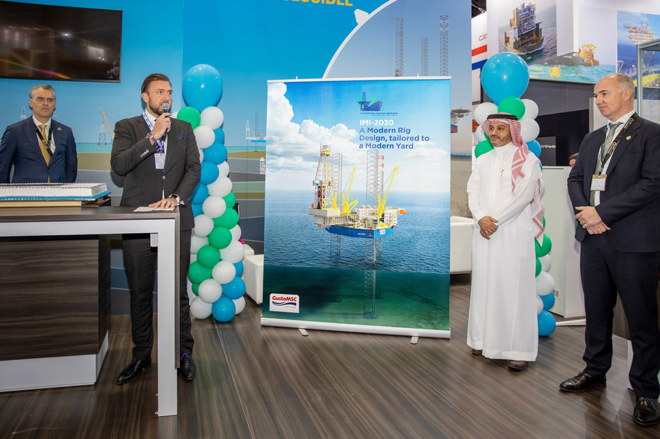 IMI and GustoMSC Naming Ceremony: IMI-2030 (PRNewsfoto/IMI)