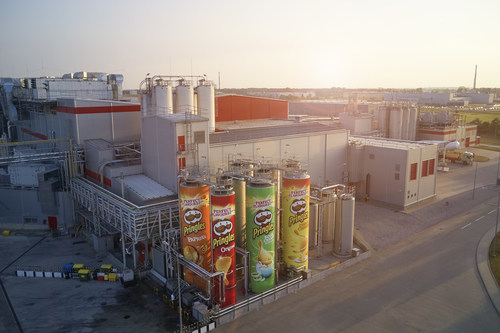 Kellogg Invests €110 Million in Pringles Factory Expansion