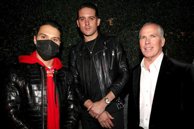 Alec Monopoly, G-Eazy, and Thomas J. Henry ©Getty Images
