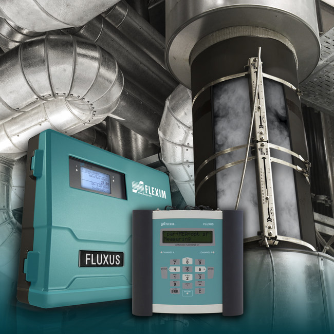 The World's Only Clamp-On Steam Meter: FLUXUS ST. Reliable and non-invasive steam measurement. High dynamic flow range. Easy and cost-efficient retrofit. No risk of leakage, no pressure loss. Integrated mass flow measurement.